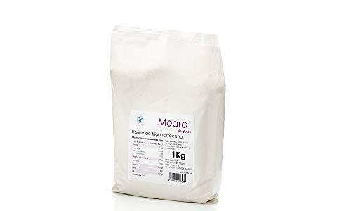 Harina de trigo sarraceno integral sin gluten - Harina sarracena ecológica y vegana - Sarraceno, sarrasin o alforfón BIO