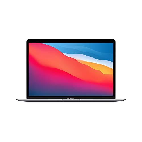 Nuevo Apple MacBook Air con Chip M1 de Apple (de13Pulgadas, 8GB RAM, 512GB SSD) - Gris Espacial (Ultimo Modelo)