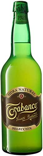 Sidra Trabanco Selección Etiqueta Negra. Sidra Natural. Caja de 6 Botellas de 70 cl.