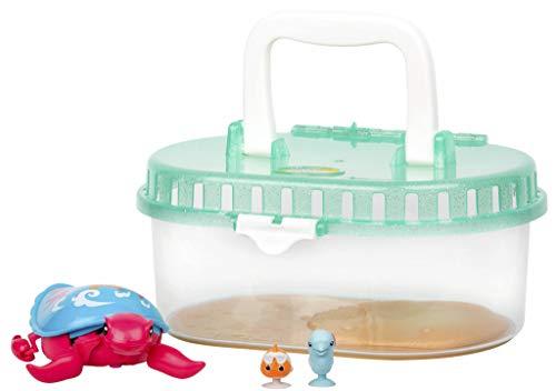 Little Live Pets Tortuga Molona con tanque, Serie 6, para niños y niñas a partir de 5 años (Famosa 700015181)