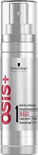 SCHWARZKOPF OSIS MAGIC, Crema de brillo antiencrespado, 50 ml