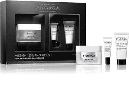 Filorga Time-filler Crema 50ml + Contorno De Ojos 4ml + Crema De Noche 5ml 69 Ml, Almond