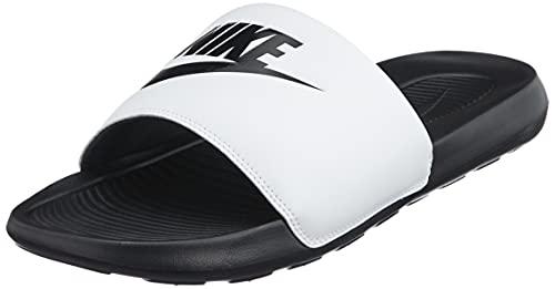 Nike Victori One Slide, Sandal Hombre, Black/Black-White, 45 EU
