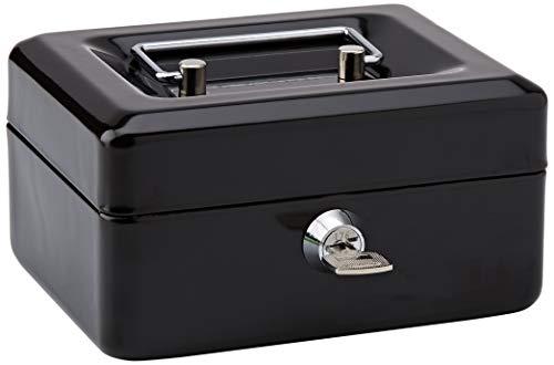 Rapesco SB0006B1 Caja fuerte portátil con portamonedas interior, de 15 cm de ancho