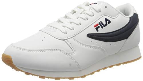 FILA Orbit men zapatilla Hombre, blanco (White/Dress Blue), 47 EU