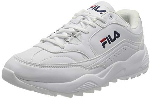 FILA Overtake men zapatilla Hombre, blanco (White), 47 EU