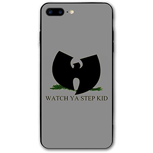 Funda protectora para iPhone 7/8 Plus Wu Tang Clan Watch Ya Step Kid Teléfono caso a prueba de caídas y resistente al desgaste