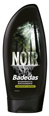 Badedas Juego de 6 duchas, color negro, 250 ml, cuidado y limpieza del cuerpo, multicolor, única