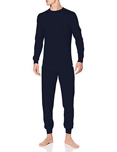 Punto Blanco Conjunto Organix Juego de Pijama, Azul, 3XL para Hombre
