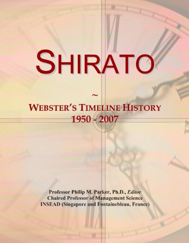 Shirato: Webster's Timeline History, 1950 - 2007