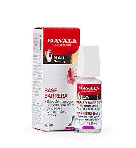 Mavala | Base-Barrera | Base Coat | Base Protectora de Uñas | Tratamiento de Manicura para el Cuidado y la Protección de Uñas Delicadas, 10 ml