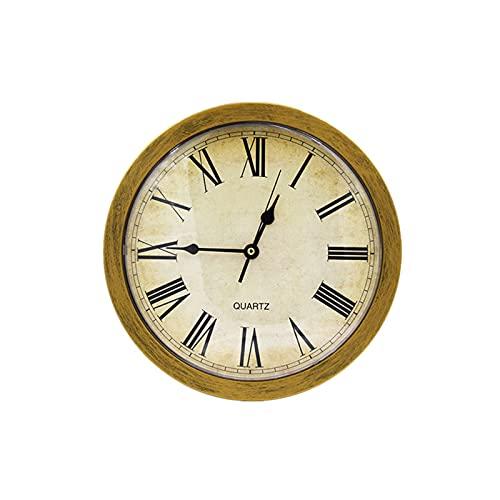Caja fuerte para reloj - 25x7cm Reloj de pared vintage Caja de seguridad Caja de almacenamiento secreta Reloj de pared Dinero seguro Joyas Almacenamiento de objetos de valor para el hogar