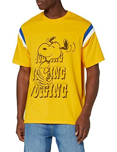 Levi's Football tee Camiseta, Correr Snoopy Gold Fusion, XS para Hombre