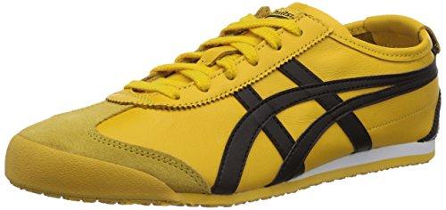 Onitsuka Tiger Zapatillas para Unisex adulto, Amarillo (Yellow/Black 490), 44 EU