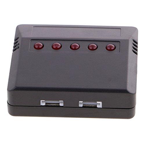 chiwanji Batería del Lipo 3.7v 5 en 1 Adaptador del Cargador del USB del Cargador para El Drone del X5c X5sw de Syma