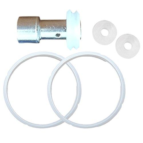 Gosear 5 Piezas El sellador Flotante de reemplazo Universal y los Anillos de Sellado 5L 6L establecen Piezas para Las ollas a presión eléctricas