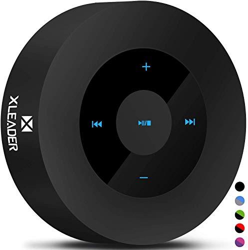XLEADER SoundAngel A8(3 Gen) Altavoz Bluetooth Bajo de 5W con Estuche Impermeable IPX7, 15h Música, Diseño Smart Touch, Altavoces Portátil Inalámbrico para Teléfono Tableta Viajar cámping BBQ