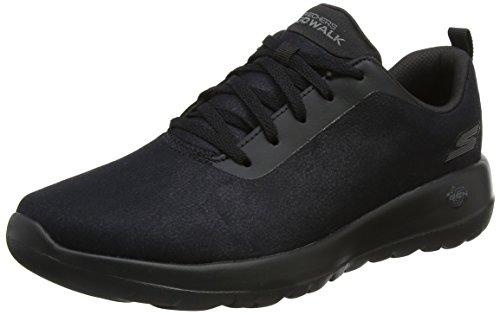 Skechers Go Walk Joy, Zapatillas Mujer, Negro (Black), 38 EU