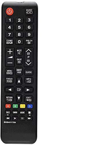 MYHGRC Reemplazo Universal Mando Samsung BN59-01175N para Samsung Smart TV LCD LED - No Requiere configuración Mando a Distancia Samsung