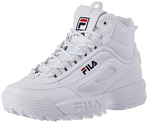 FILA Disruptor mid wmn Botas Mujer, blanco (White), 41 EU