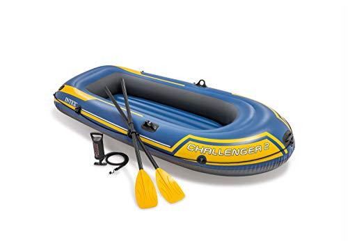 Intex 68367NP - Barca hinchable Challenger 2 con remos 236 x 114 x 41 cm