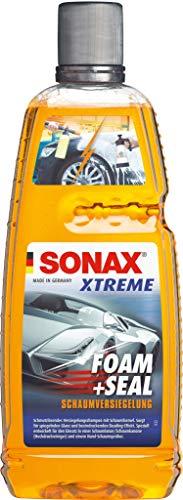 Sonax Xtreme Foam + Seal (1 litro), champú sellador de suciedad con fórmula de espuma, devuelve el máximo brillo y refresca los selladores existentes, número de referencia 02513000