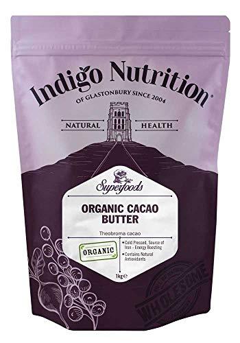 Indigo Herbs Manteca de Cacao Orgánico 1kg