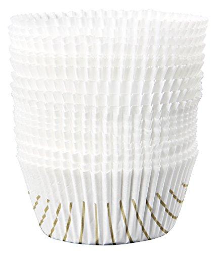 Zenker 43436 cápsulas Magdalenas en papél. Blanco. ø5cm. 100 uds