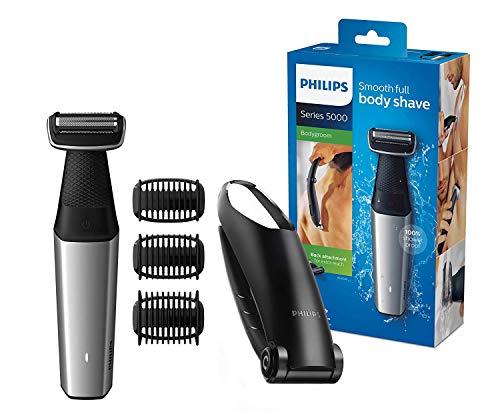 Philips BG5020 / 15 Bodygroom Series 5000 con accesorio para depilación y 3 peines para recortar