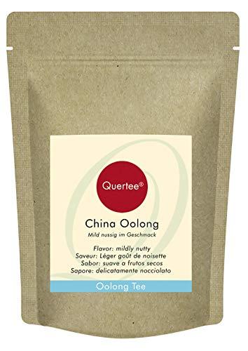 Té Oolong - China Oolong - 250 g de té suelto por más de 100 tazas de té - Té Oolong puro de China sin saborizantes
