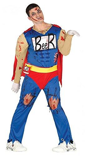 shoperama Hombre Disfraz Zombie Muñeco de Cerveza Duff Beer. Man Cerveza de muñeco Halloween Comic Horror