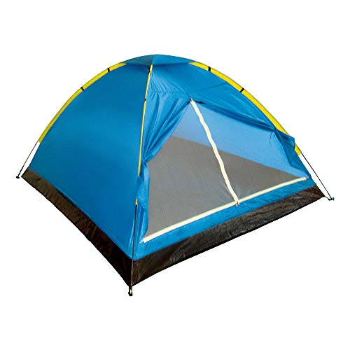 Aktive 52550 - Tienda campaña Dome 2 personas, 200 x 120 x 100 cm