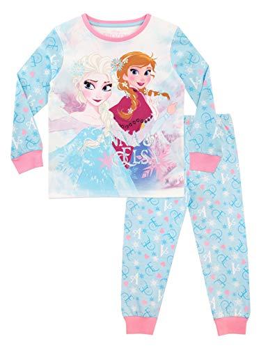 Disney Pijama para niñas La Reina del Hielo Frozen Azul -4 5 Años