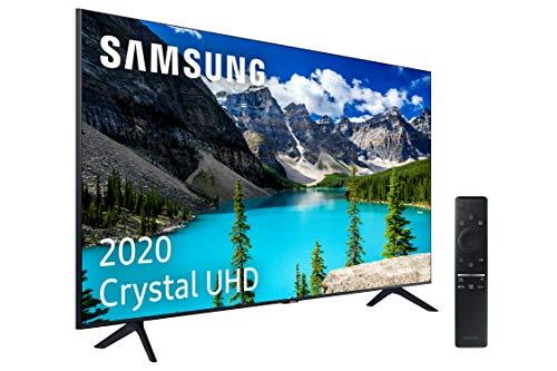 Samsung UHD 2020 50TU8005 - Smart TV de 50' 4K, HDR 10+, Crystal Display, Procesador 4K, PurColor, Sonido Inteligente, One Remote Control y Asistentes de Voz Integrados, con Alexa integrada