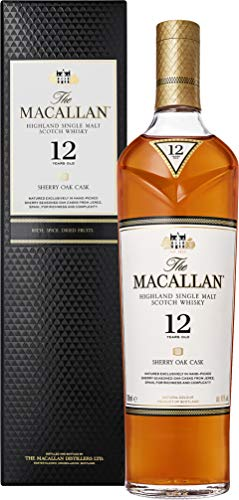 Macallan Sherry Oak 12 Años Single Malt Whisky Escoces, 40% - 700 ml