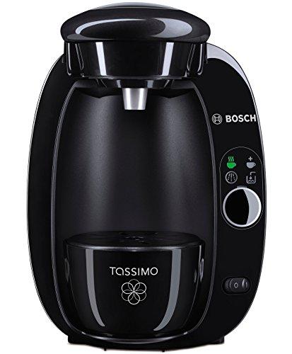 TASSIMO T20 Independiente Totalmente automática Máquina de café en cápsulas 1.5L Negro - Cafetera (Independiente, Máquina de café en cápsulas, 1,5 L, Cápsula de café, 1300 W, Negro)