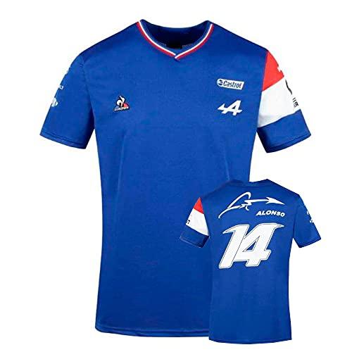 Camiseta Fernando Alonso Alpine F1 XXXL