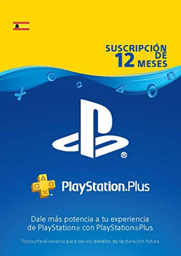 Sony, PlayStation Plus - Suscripción 12 Meses | PS5/PS4/PS3 | Código de descarga PSN - Cuenta española