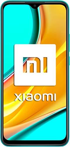 Xiaomi Redmi 9 - Smartphone con Pantalla FHD+ de 6.53' DotDisplay, 4 GB y 64 GB, Cámara cuádruple de 13 MP con IA, MediaTek Helio G80, Batería de 5020 mAh, 18 W de Carga rápida, Verde