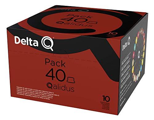 Delta Q - Pack XL Qalidus 40 Cápsulas - Intesidad Alta - 40 Cápsulas