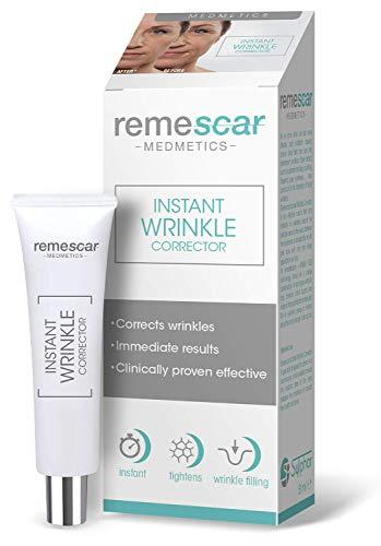 Remescar - Corrector de arrugas al instante - Probado clínicamente - Reducción de las arrugas y de los signos relacionados con la edad - Crema antiarrugas para hombre y mujer - Resultados inmediatos