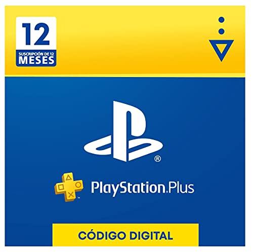 Sony, PlayStation Plus - Suscripción 12 Meses   PS5/PS4/PS3   Código de descarga PSN - Cuenta española