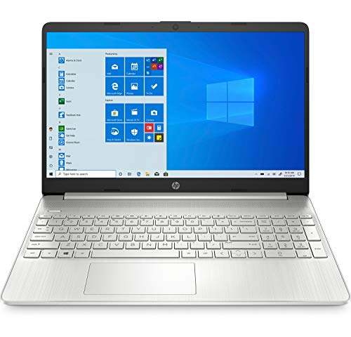 HP 15s-eq0025ns - Ordenador portátil de 15.6' FullHD (AMD Ryzen 5 3500U, 8GB RAM, 256GB SSD, AMD Radeon Vega 8, Windows 10 Home) plata natural- Teclado QWERTY Español
