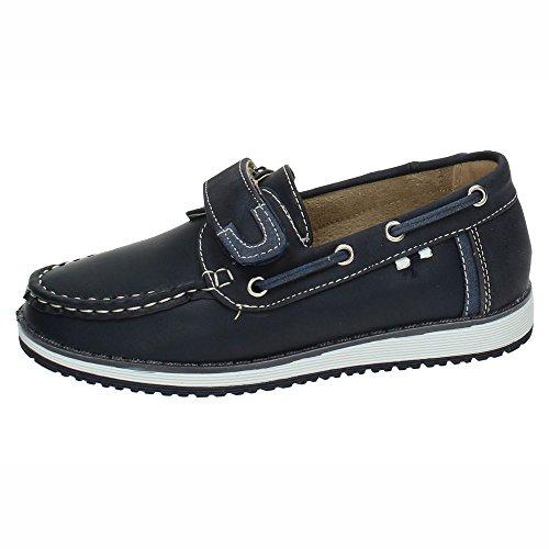 BONINO NS599A-18 Mocasines DE BONINO NIÑO Zapatos MOCASÍN Azul 39