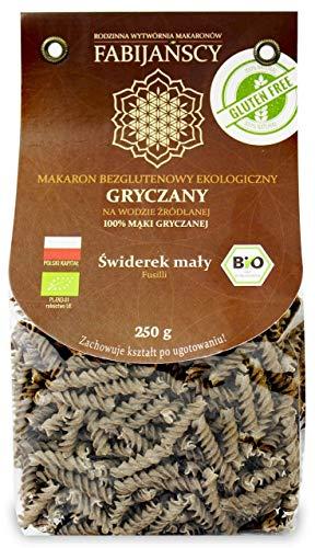 Pasta sin gluten (trigo sarraceno) BIO 250 g - FABIJAŃSCY