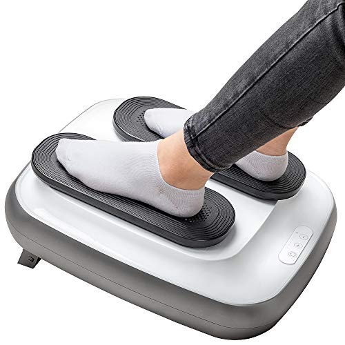 GRIDINLUX. Ejercitador de Piernas TRAINER LEGS. Gimnasia Pasiva, Mando a Distancia, Altura Regulable, Intensidad Ajustable, Fácil de usar