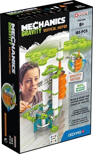 Gemag Mechanics, Gravity 183 Piezas, construcción magnética, Juegos educativos, Juguete para niños a Partir de 8 años, GMV02