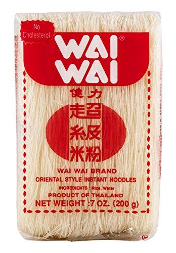 Wai Wai - Fideos De Arroz Extra Finitos, Para Caldos O Salteados 200G