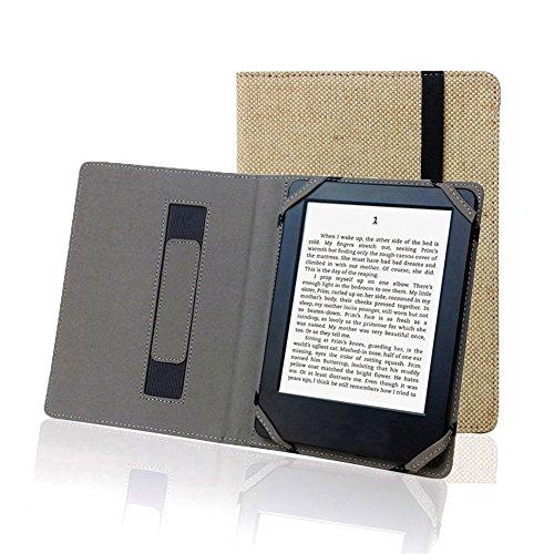 Funda para Libro electrónico de 6 Pulgada Universal, cáñamo Natural, para Sony, kobo, tolino, Pocketbook, Tagus, BQ,Energy ebook