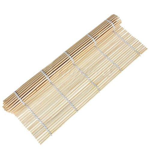 Japonais - Esterilla de bambú para sushi (23 x 24 cm)